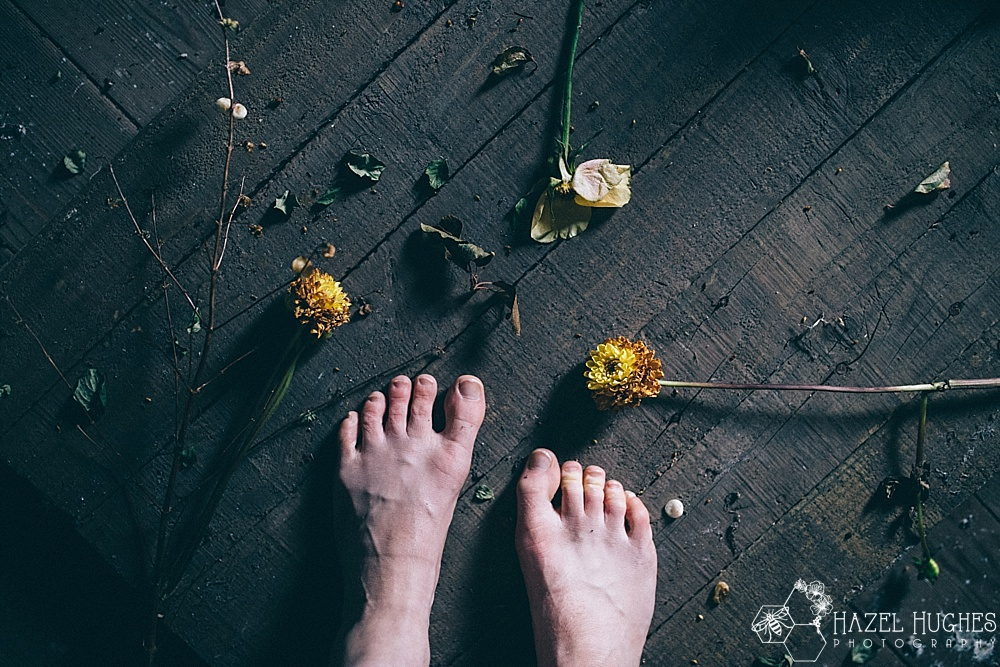 feet and flowers - type 1 diabetes